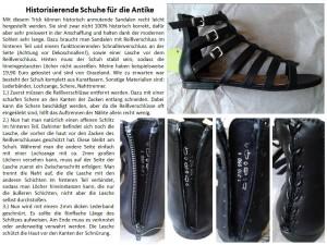 Schuhe Anleitung
