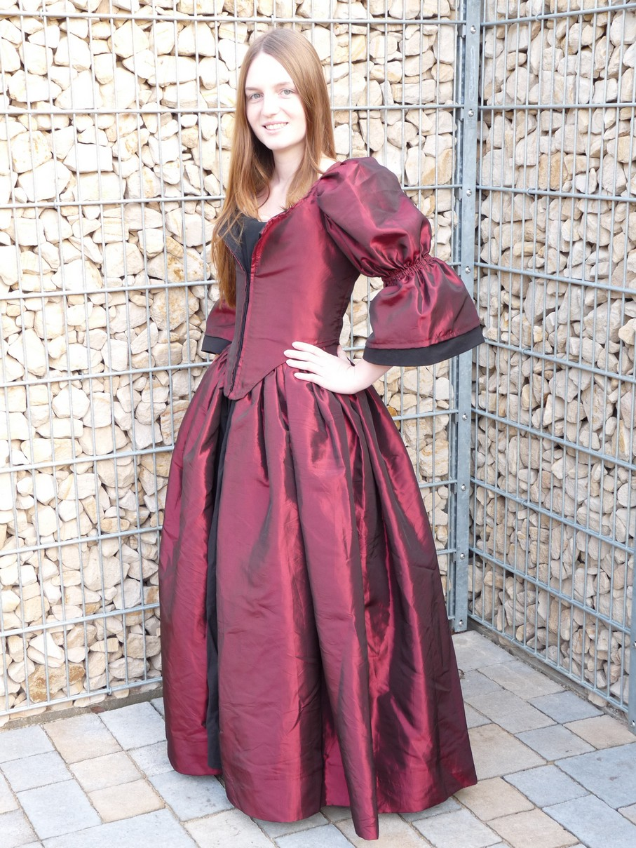Pirates of the Caribbean: Plum Pirate Gown Version 1 vs